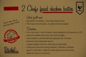 Chicken Shack Chicken Batter Label
